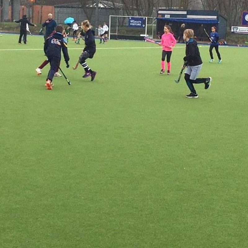 Kids play well at Auchenhowie