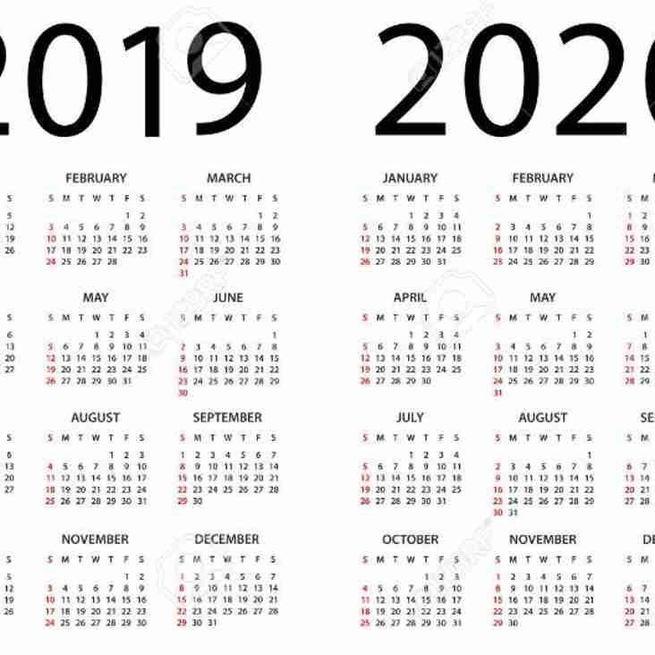 North 18s Divisional Programme - Season 2019-2020