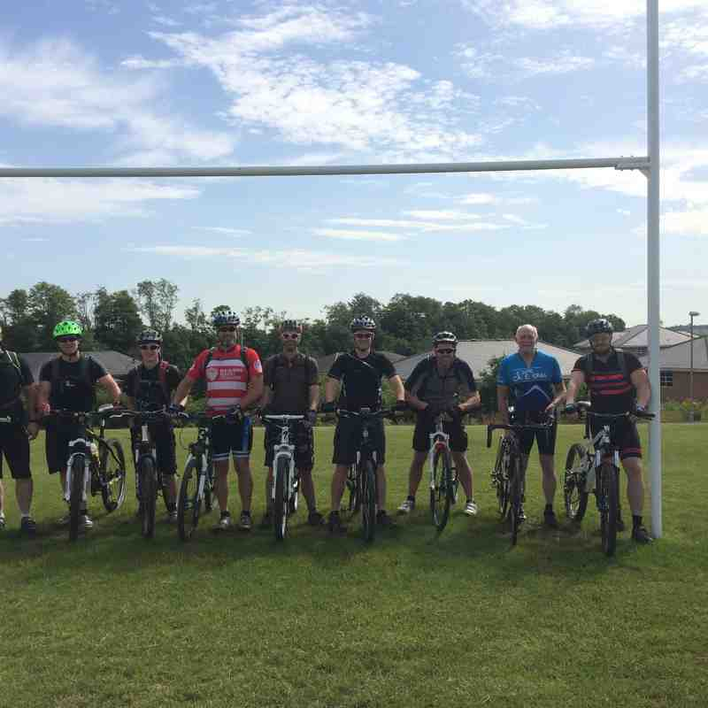 CPRUFC Club 2 Club charity bike ride 2015