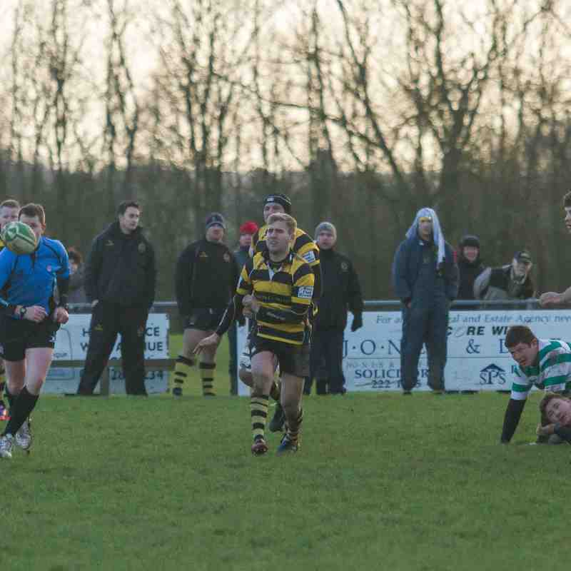 Hinckley RFC Vs South Leicester 10.01.15