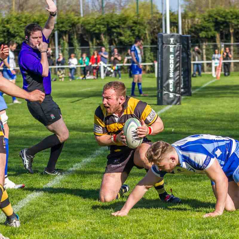 Hinckley RFC Vs Peterborough 18.04.15