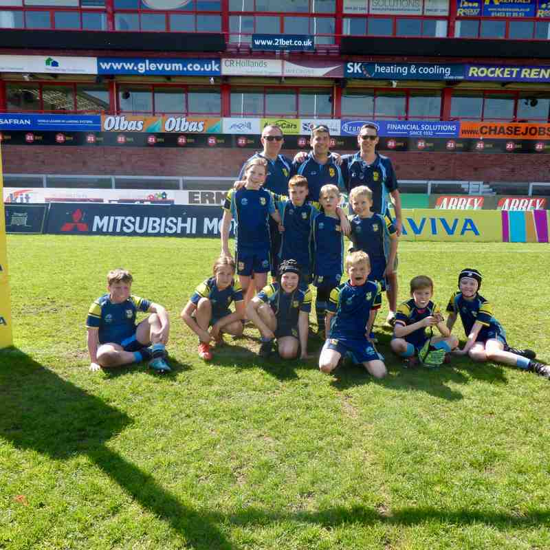 Kingsholm Woodenspoon Charity Festival 2018