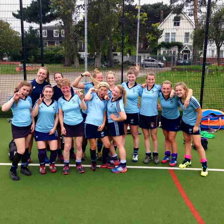 Ladies 1A's into the 3rd round of the 2nd XI cup