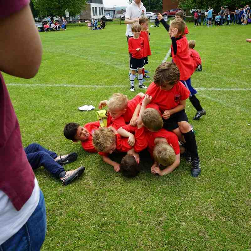 some of are 16/17 Under 7's @ Barming Tournament 11/06/16