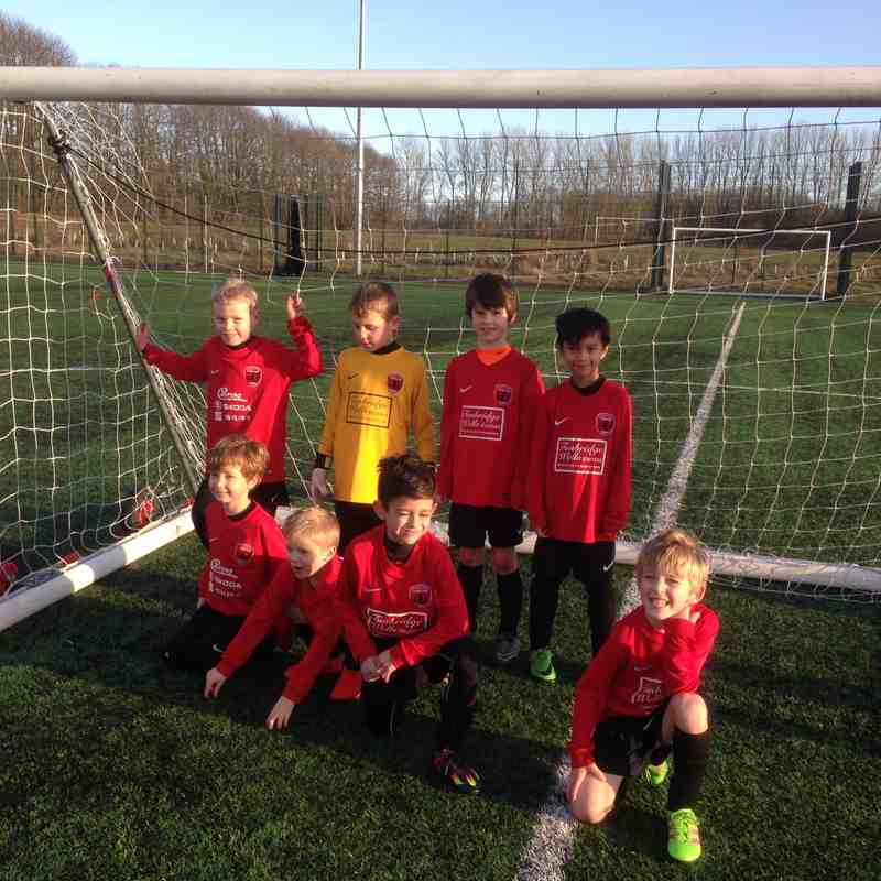 Some off are U7's Pre Xmas 2016 mini fista @ king hills with Rondos