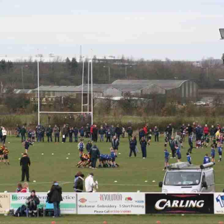 Coalville RFC Mini Festival 2016
