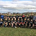 Under 14s Win the league, with one match to spare