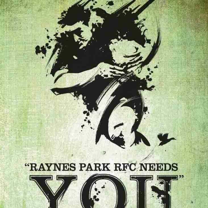 Raynes Park RFC - Recruiting Players for the Season Ahead