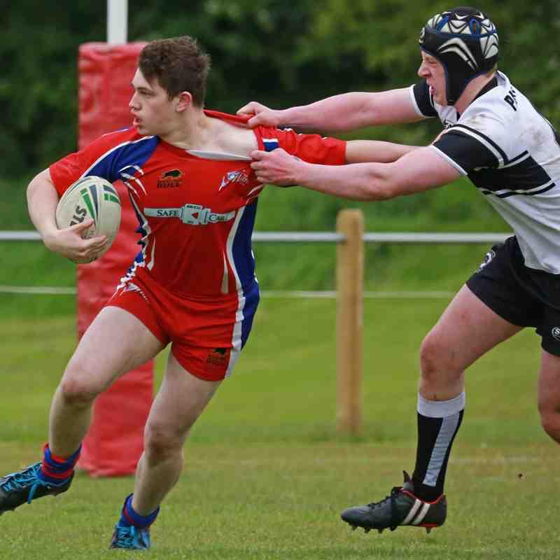 Chorley Panthers 12-28 Shevington Sharks U16s