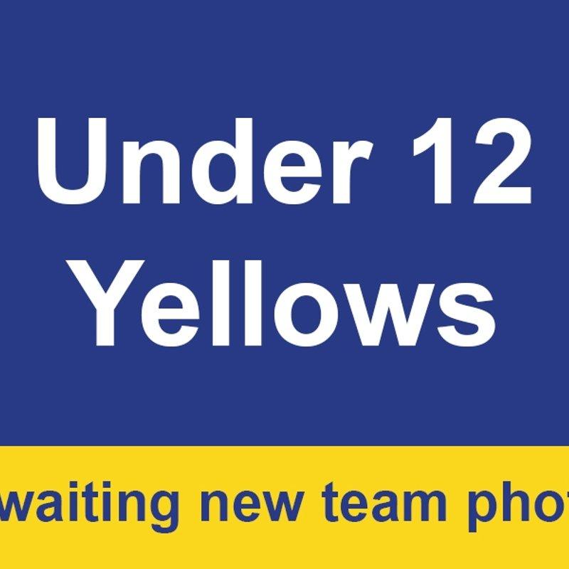 Under 12 Yellows beat Otterburn 1 - 5