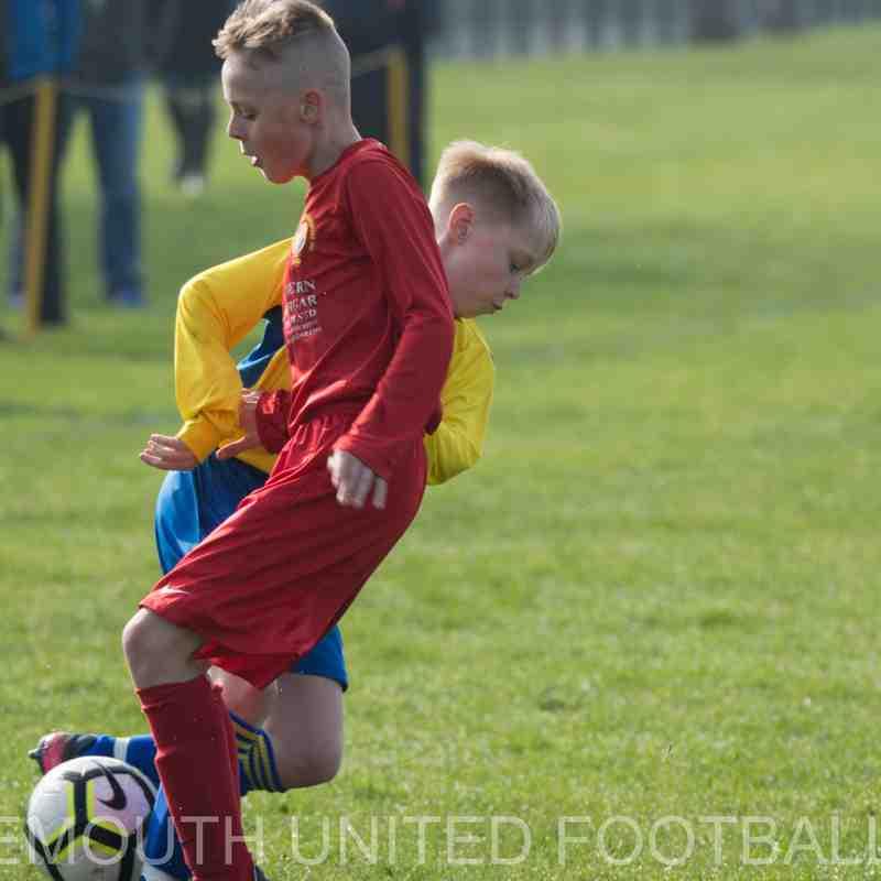 U12 Yellows vs. Montague & Nth Fenham Reds