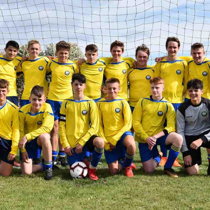 18/19 - TUFC U16B - Cramlington United Tigers