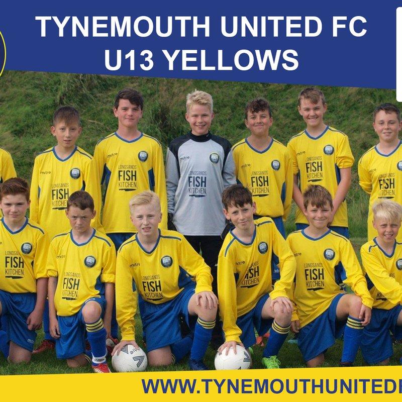 Whitley Bay FC Utd vs. Tynemouth United Yellows