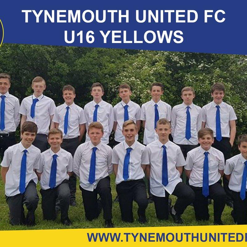 Under 16 Yellows lose to KYPC 3 - 4