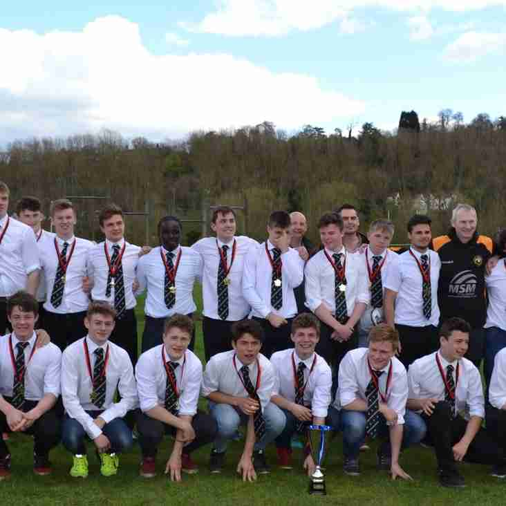 U16s- Congratulations to our Boys!