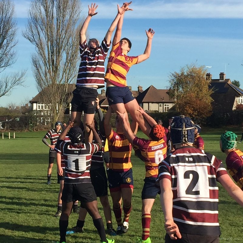 U16's lose to strong Westcliff side