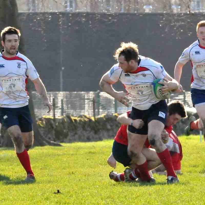 2nd's v Peebles 19th March 16