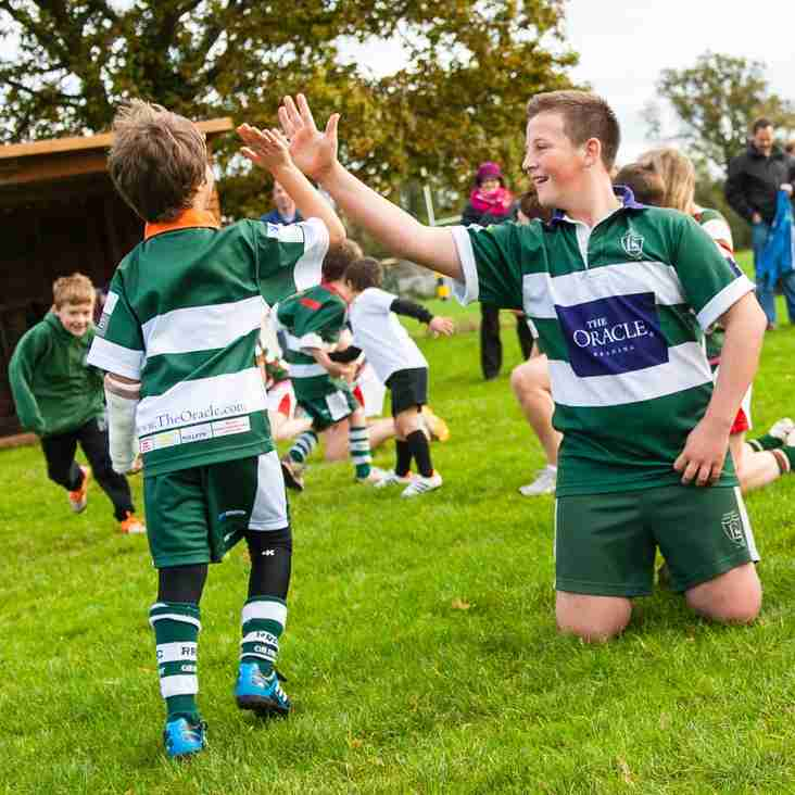 Reading Rugby Club Summer Camp for U6s - U15s,  August 17, 18 & 19