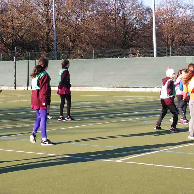 Junior Netball 4th Dec 2016