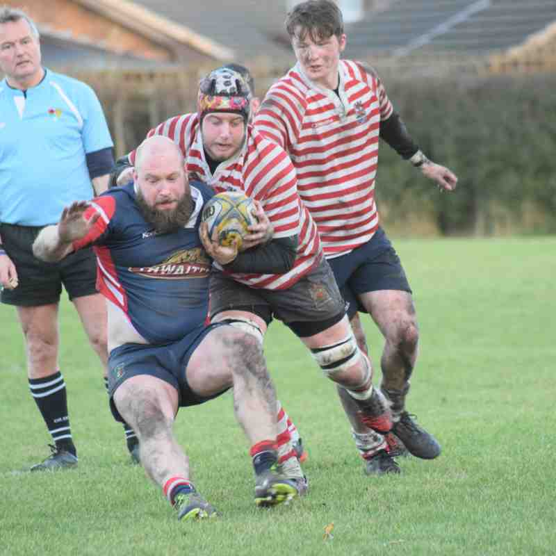 Aldwinians 3 vs 2nd XV 6/01/2018
