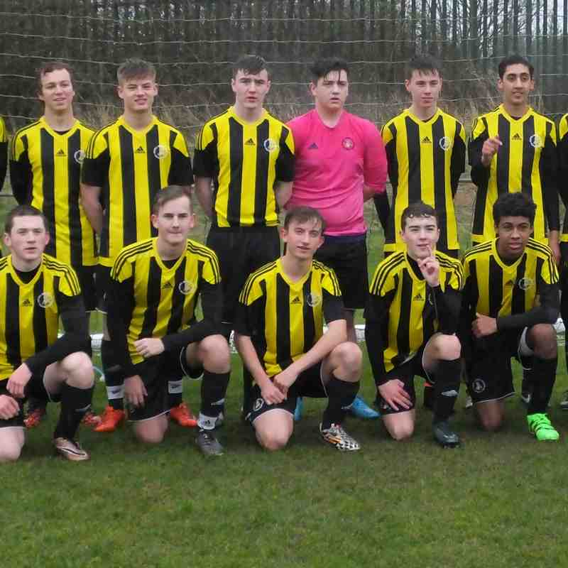 Under 16's 1 York City Academy 2