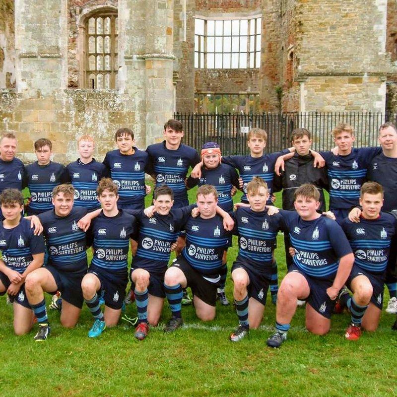 Under 15 beat Guernsey 50 - 0