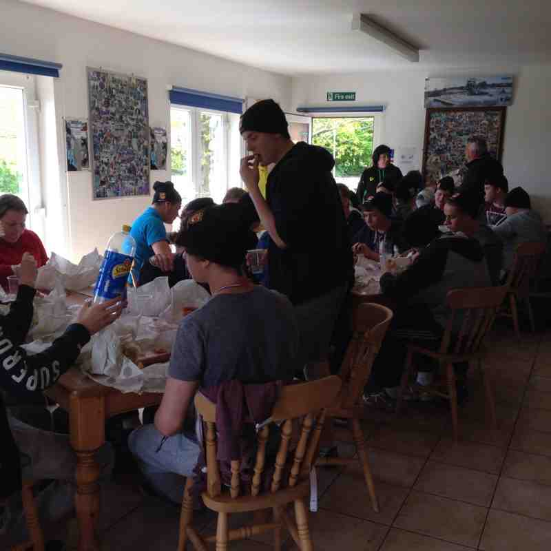 U16's End of Season Activity Day at The Taste of Adventure