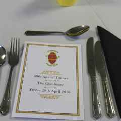 Annual Dinner 29th April 2016