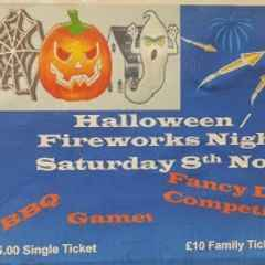 Halloween and Fireworks night Saturday 8 November 2014