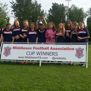 Capital Girls Cup Under 14 Final  -  Denham Utd v QPR