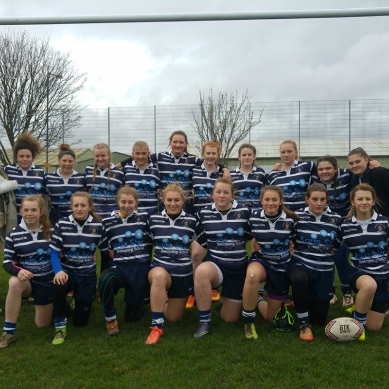 Under 16's Lionesses beat Wibsey Warriors 72 - 0