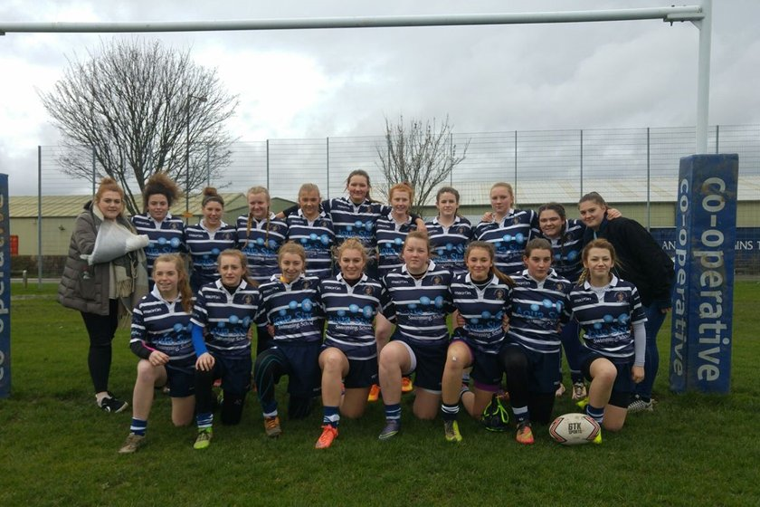 Under 16's Lionesses beat Shaw Cross Sharks 14 - 18