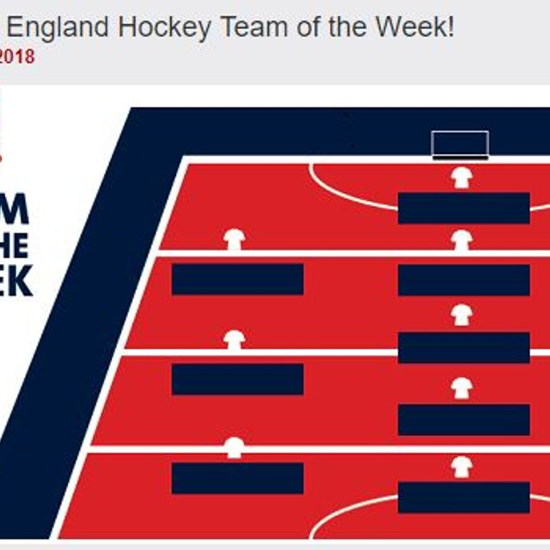England Hockey Team of the Week!