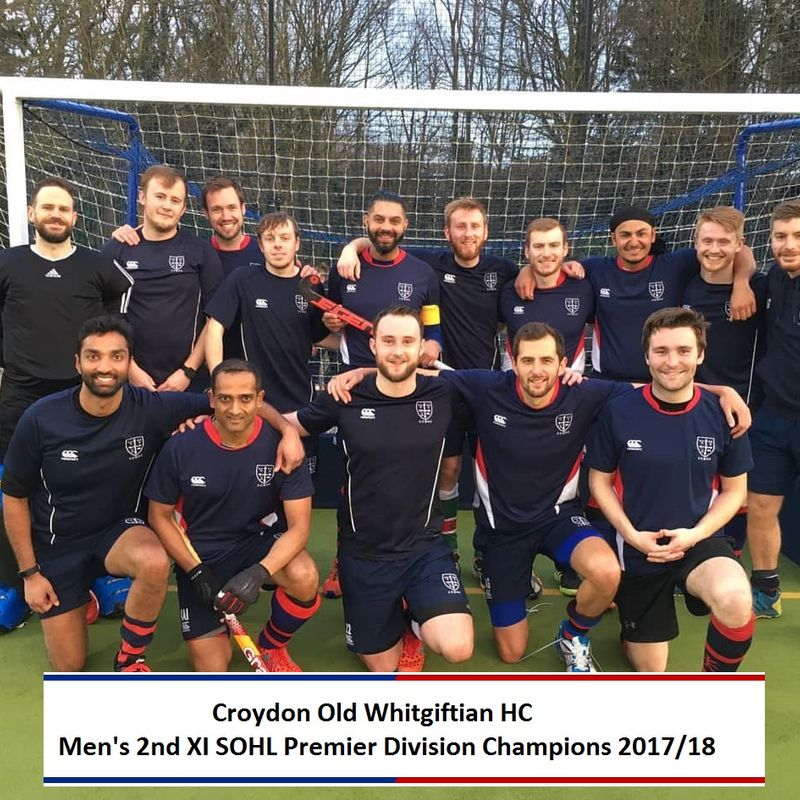 Men's 2nd XI Crowned SOHL Premier Champions