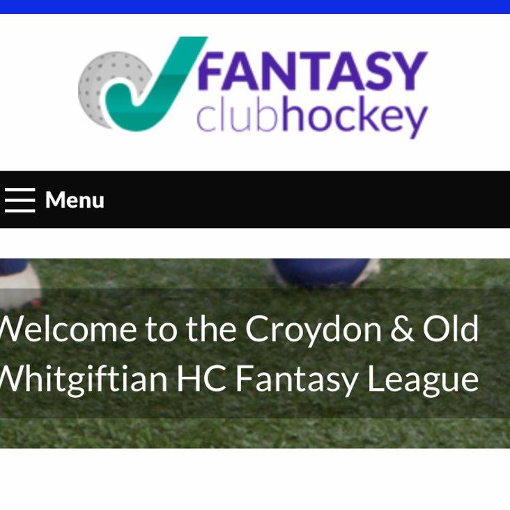 Fantasy Hockey League<