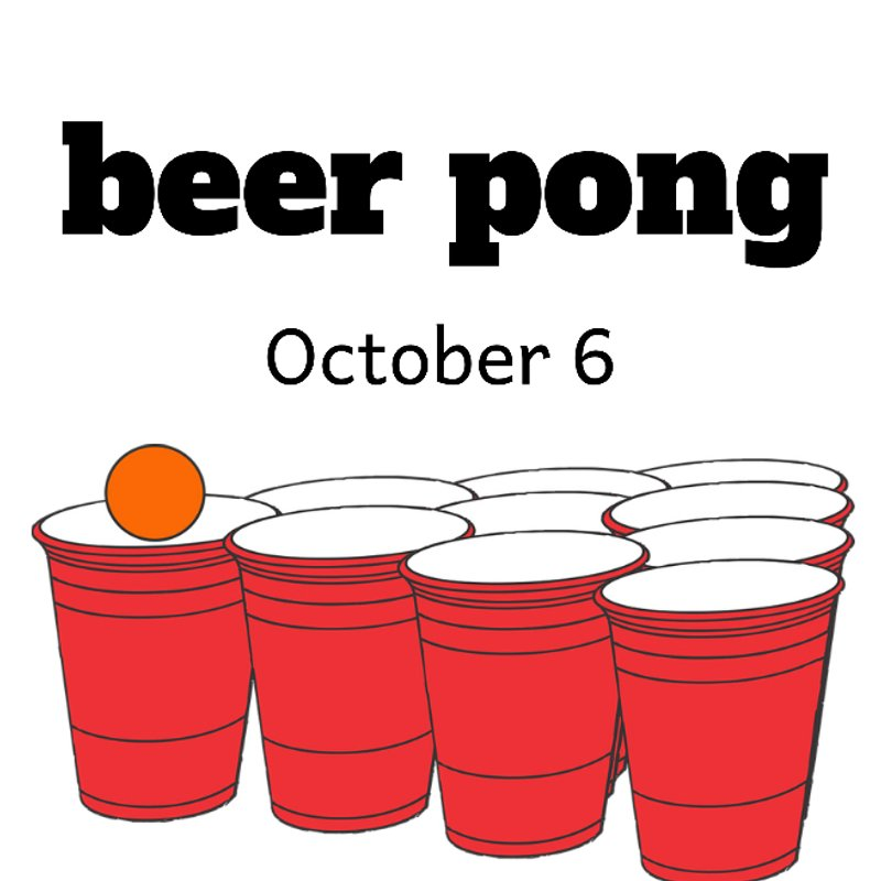 Beer Pong - 6th October 2018