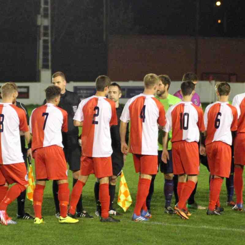 Ashton United 3 - 4  Trafford (Cup)