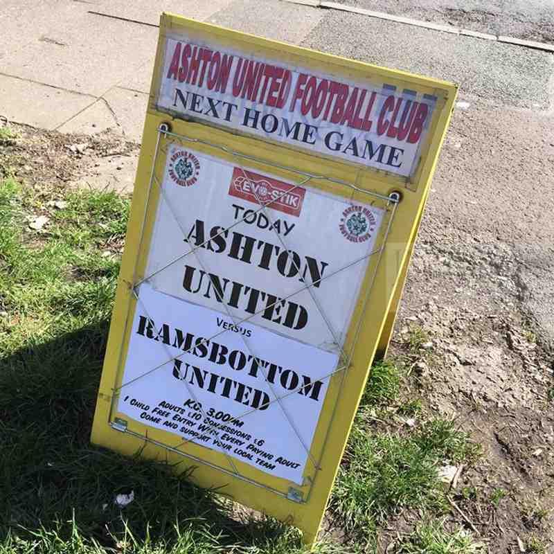Ashton Utd 1 -0  Ramsbottom Utd - Evo Stick - NPL - 06 April 2015