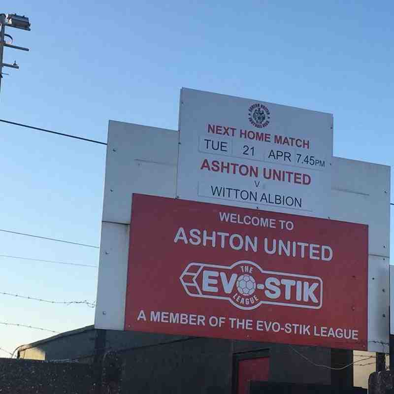 Ashton Utd 2-1 Witton Albion Evo Stick NPL - 21 April 2015