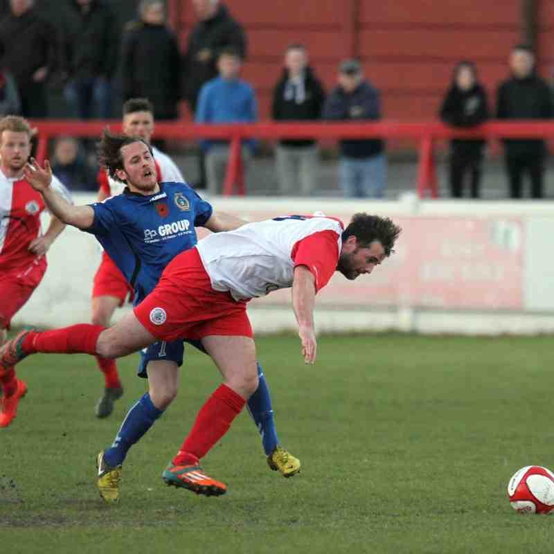 Ashton Utd 1-1 Curzon Ashton - Evo Stick NPL Semi Final play off - 28 April 2015