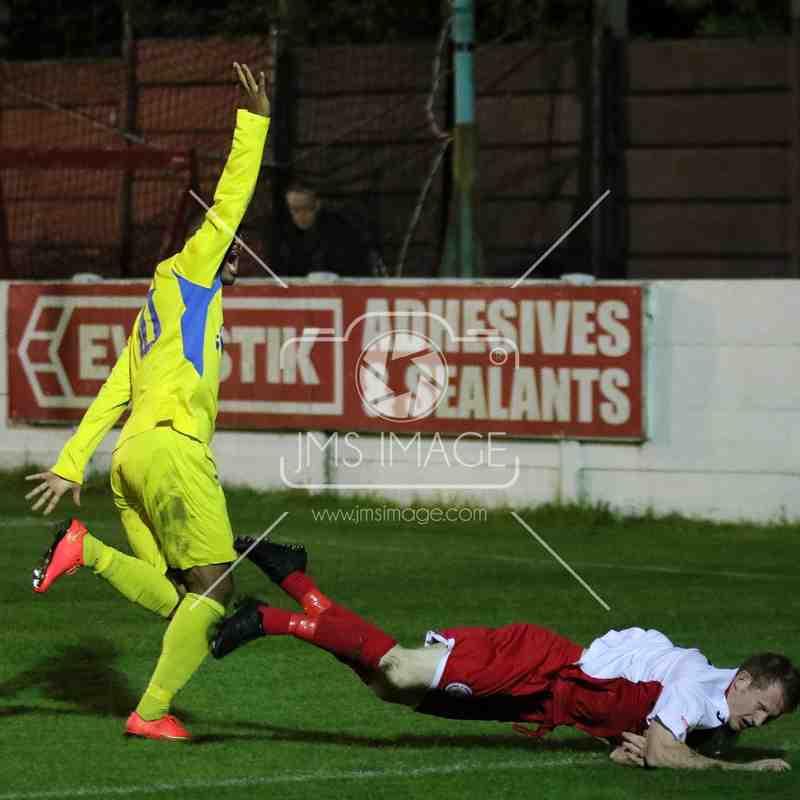 Ashton Utd v Frickley Athletic - Evo stick - NPL - 29 Sep 2015