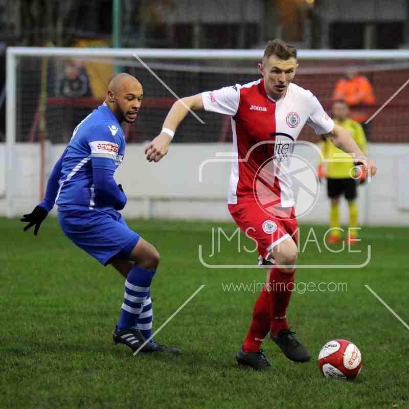 Ashton Utd v Sutton Coldfield Town - Evo stick - NPL - 05 Dec 2015