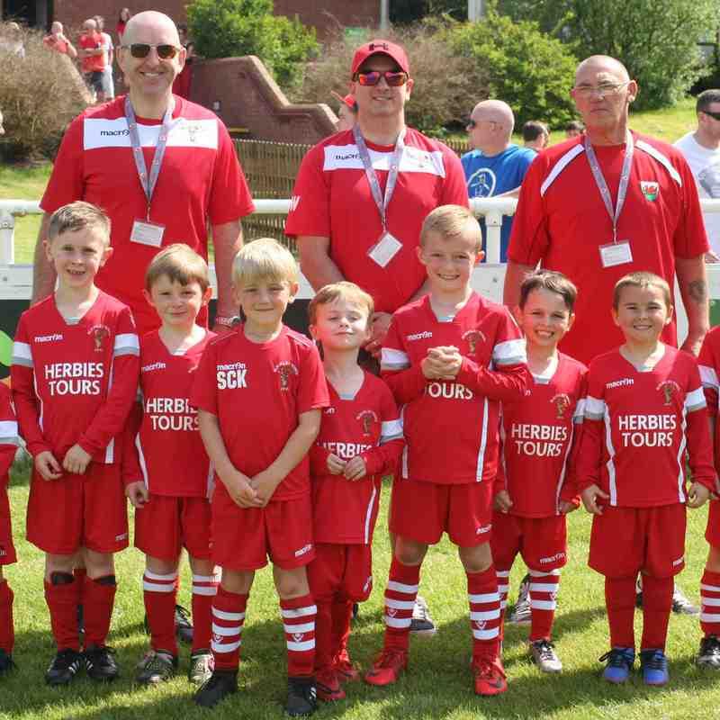 Buckley Town v Brickfield Rangers U6 Mascots