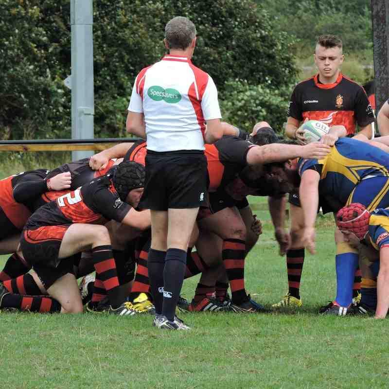 Trial game Vs Dinas Powis RFC