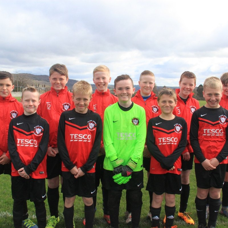 Under 12 lose to Penistone 2 - 1