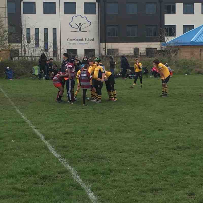 U12s v Barking & Hackney 25 Nov 20180