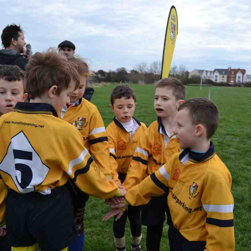 U9's versus Canvey 13 January 2019