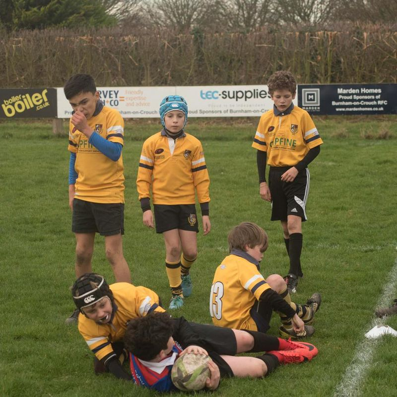 Burnham U12's continue their impressive start to 2019