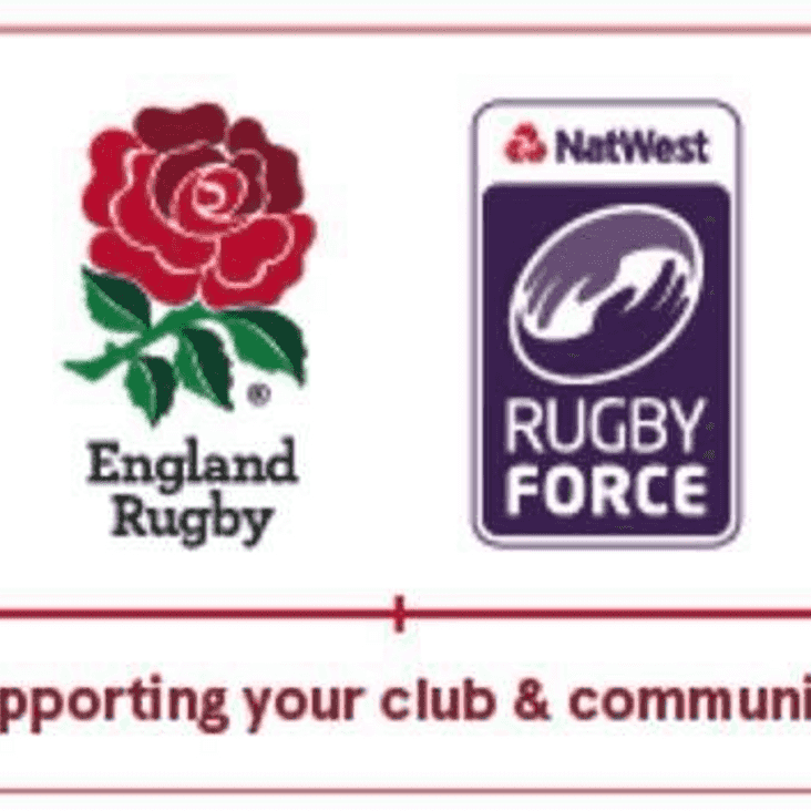 Natwest Rugby Force 2019 - Coming to BRUFC. Be a part of it!