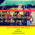 Wheelchair Rugby League is back for 2017.....